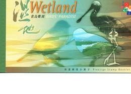 2000 Hong Kong Booklet Wetland Bird's Paradise - Cuadernillos/libretas