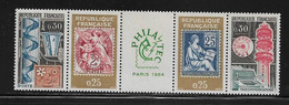 FRANCE  ( FVT - 166 )  1964  N° YVERT ET TELLIER    N°  1417A  N** - Variétés: 1960-69 Neufs