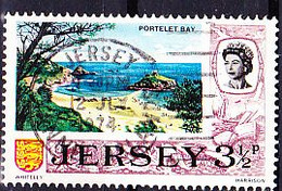 Jersey - Bucht Von Portelet (MiNr: 40) 1970 - Gest Used Obl - Jersey