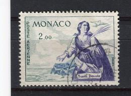 MONACO - Y&T Poste Aérienne N° 73° - Sainte Dévote - Airmail
