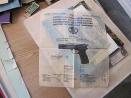 Fabrique Nationale D Armes De Guerre S A Herstal Lez Liege Belgique Browning Automatic Pistols - Advertising