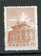 TAIWAN (FORMOSE) - DIVERS - N° Yt 336 (*) - Nuevos