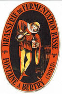 Ancienne étiquette Brasserie Fontaine à Bertry 59 - Bier