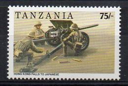 WWII - Hong Kong Falls To The Japanese Army - (Tanzania 1992) MNH (2W0399) - WW2