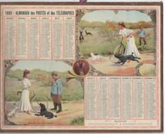"""Almanach Des Postes Et Télégraphes 1909 """"délit De Chasse"""" - Big : ...-1900"""