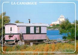 13 , CAMARGUE , Roulotte Aux Saintes Maries De La Mer , * M 26 60 - Saintes Maries De La Mer