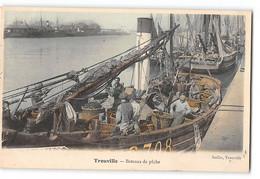 CPA 14 Trouville Bateaux De Peche - Trouville