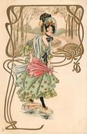Fantaisie - Art Nouveau -  Illustr.  - Alice Wanke - Serie 203 - R. Tuck Un Mot à La Poste - Art Nouveau - Altre Illustrazioni