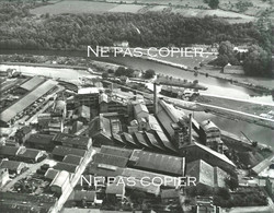 CLAMECY 1955 Société Des Produits Chimiques De Clamecy Bâtiments Nièvre 24 X 28 Cm - Lieux