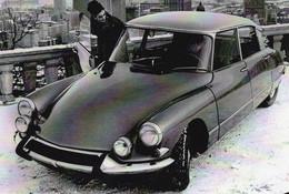 Citroen DS 21 Export  De 1972    -  CPM - Passenger Cars