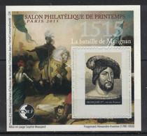 France - Bloc CNEP - Yvert 68 - Salon De Printemps Paris 2015 - Francois Ier, Marignan - CNEP