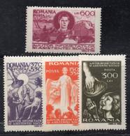 KS115A - ROMANIA 1947 ,  Serie Yvert N. 930/933  ***  MNH - Ungebraucht