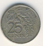 TRINIDAD & TOBAGO 1980: 25 Cents, KM 32 - Trinidad & Tobago