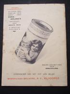 Oud Boekje   Leverancier V . H .  Hof V.  Belgie  1928  WERKHUIZEN  DELACRE  N . V .   VILVOORDE - Vilvoorde