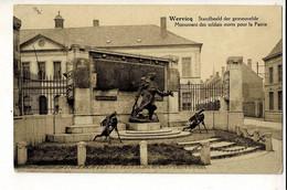 56943 - WERVIK - WERVICQ STANDBEELD DER GESNEUVELDE - MONUMENT DES SOLDAT MORTS POUR LA PATRIE - Wervik
