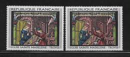 FRANCE  ( FVT - 212 )  1967  N° YVERT ET TELLIER    N°  1531  N** - Variétés: 1960-69 Neufs