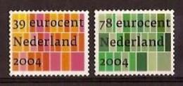 Nederland 2004 NVPH Nr 2250/2251 Postfris/MNH Zakelijke Postzegels - Ungebraucht