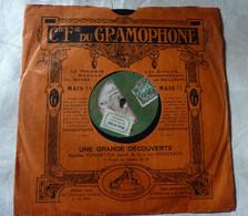 Disque Cie Fse Du GRAMOPHONE La Voix De Son Maître- Bajus Orchestre Bal Champêtre K660 - 78 G - Dischi Per Fonografi
