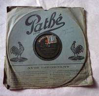 Disque 78 T Phonographe GRAMOPHONE Pathé - Chanson De Marinette Et Goublier M. Vigneau N°3127 - 78 G - Dischi Per Fonografi