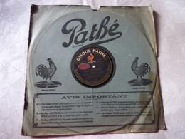 Disque 78 T Phonographe GRAMOPHONE Pathé - César Bourgeois Ballet Les 2 Pigeons - N° 6007 - 78 G - Dischi Per Fonografi