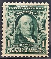 USA 1903 - MNH - Sc# 300 - 1c - Ungebraucht