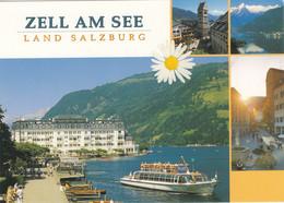 1095) ZELL Am SEE - Anlegestelle Hotel Und SCHIFF - Zell Am See