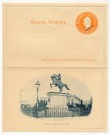 ARGENTINE - Entier Postal - Carte Lettre Illustrée 5 Centavos (MUESTRA) - Estatua De San Martin - Ganzsachen