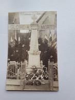 Laharmand  Carte Photo  Inauguration Du Monument - Sonstige Gemeinden