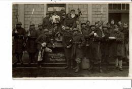 SCHAFFEN  Kazerne  Belgische Militairen Fotokaart - Diest