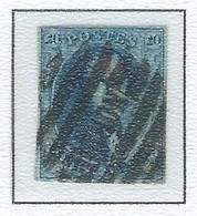 COB  11  Médaillon Allongé - Bureaux De Perception - 8 Barres Horiz. - NORD - Brux. Nord - 1858-1862 Medaglioni (9/12)