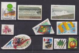 Canada - Lot De 9 Timbres Oblitérés - Otros