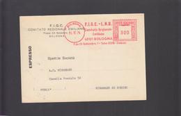 2021_21 Sport Italia FIGC Federazione Italiana Gioco Calgio Comitato Emilia Romagna Bologna 1974 Rossa EMA - Storia Postale