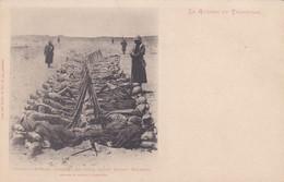 La Guerre Au Transvaal Soldats Anglais Dormant En Plain Champ Devant Colenso - Andere Kriege
