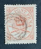 Danemark - Denmark - Dinamarca - 1864 - N° 13 Oblitéré - TB - Côte 12 Euros - Gebraucht