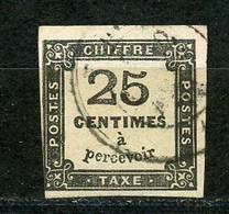 FRANCE - TAXE N° Yt 5A OBL. - 1859-1955 Usati
