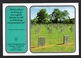Carte RARE - Militaria - Cimetière Allemand - DAGNEUX (01 Ain ) Guerre 14 / 18 - Oorlog 1914-18