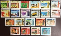 Zimbabwe 1985 National Infrastructure Definitives Set Plants Animals No 4c MNH - Zimbabwe (1980-...)