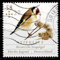 Bund 2013,Michel# 3023+3025 O  Für Die Jugend 2013: Vögel - Gebruikt
