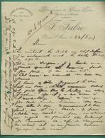 64 Oloron Sainte Marie F Fabre Laines Plumes Duvets Manufacture De Couvre Pieds édredons, Matelas 24 5 1903 - Kleding & Textiel