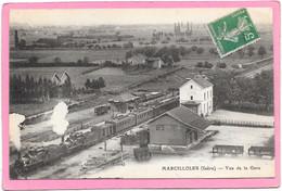 38 MARCILLOLES - Vue De La Gare - Trains - Other Municipalities