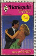 """Lotto Cinque Libri """"HARLEQUIN Temptation/Desire-n°1/105/107/51/157"""" In Lingua POLACCO- - Romanzi"""