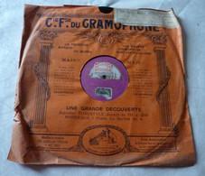 Disque Cie Fse Du GRAMOPHONE La Voix De Son Maître- Carmen (Bizet) Sigurd - 78 G - Dischi Per Fonografi