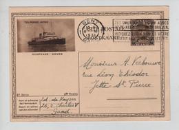 REF3306/ Entier CI 10 - 22 C.Gent 1931 > Jette St.Pierre - Cartoline Illustrate