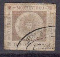 Uruguay. 1860 Yvert 13 Oblitere - Uruguay
