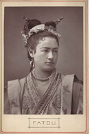 PHOTOGLYPTIE DE L'ARTISTE FATOU VERS 1870 - Beroemde Personen