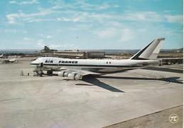 AEROPORT LE BOURGET BOEING 747 AIR FRANCE ET AEROGARE ;TRES BEAU PLAN COULEUR REF 69576 - Vliegvelden