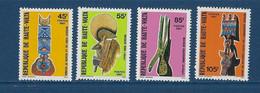 "Hte-Volta YT 541 à 544 "" Masques "" 1981 Neuf** - Alto Volta (1958-1984)"
