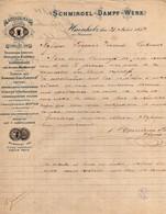 SCHMIRGEL-DAMPF-WERK-1884 - 1800 – 1899