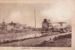 Quaregnon Le Canal De Mons à Condé - Quaregnon