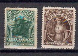 Uruguay 1894 Yvert 106 / 107 * Neufs Avec Charniere - Uruguay
